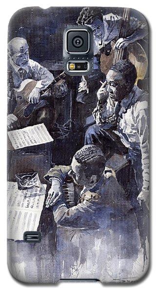 Broadway Galaxy S5 Case - Jazz Parker Tristano Bauer Safransky Rca Studio Ny 1949 by Yuriy Shevchuk