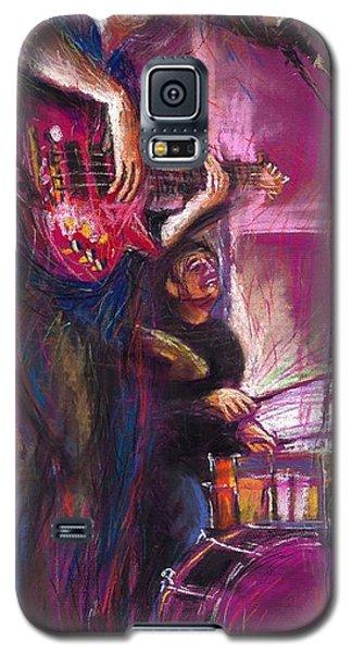 Jazz Purple Duet Galaxy S5 Case by Yuriy  Shevchuk