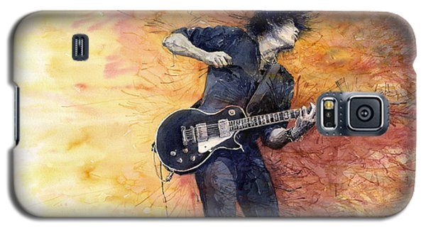 Jazz Rock Guitarist Stone Temple Pilots Galaxy S5 Case by Yuriy  Shevchuk