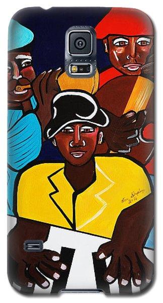 Jazz Sunshine Band Galaxy S5 Case by Nora Shepley