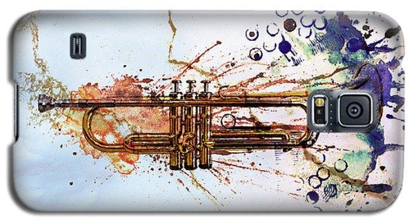 Trumpet Galaxy S5 Case - Jazz Trumpet by David Ridley