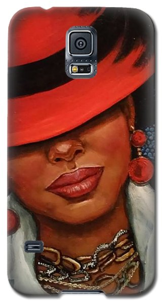 Jazzy Galaxy S5 Case by Alga Washington
