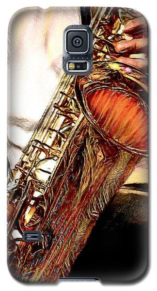 Jazzy Sax Galaxy S5 Case