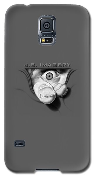 Galaxy S5 Case featuring the drawing J.b. Imagery by Joe Burgess