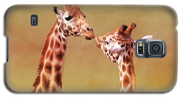 Je T'aime Giraffes Galaxy S5 Case