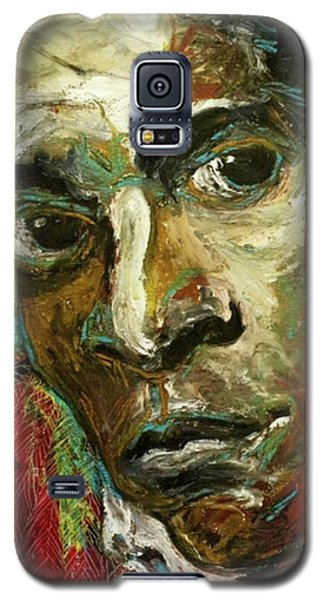 Jean-michel Basquiat Galaxy S5 Case by Helen Syron
