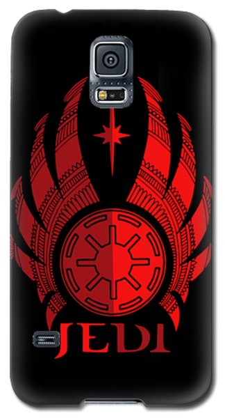 Jedi Symbol - Star Wars Art, Red Galaxy S5 Case