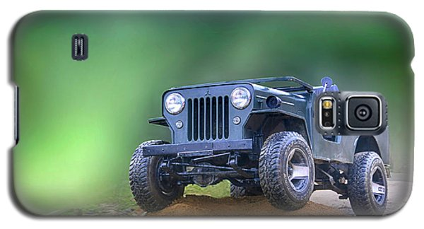 Galaxy S5 Case featuring the photograph Jeep by Charuhas Images