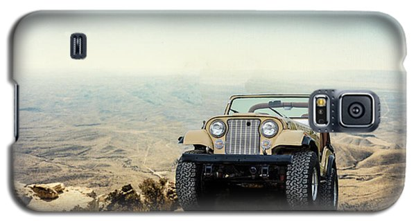 Jeep On A Mountain Galaxy S5 Case
