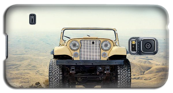 Jeep On Mountain Galaxy S5 Case