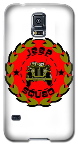 Jeep Squad Galaxy S5 Case