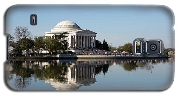 Jefferson Memorial Cherry Blossom Festival Galaxy S5 Case