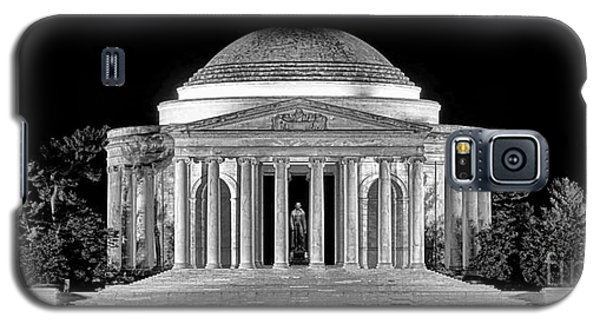 Jefferson Memorial Lonely Night Galaxy S5 Case