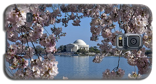 Jefferson Memorial On The Tidal Basin Ds051 Galaxy S5 Case by Gerry Gantt