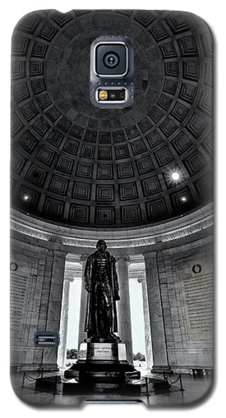 Jefferson Statue In The Memorial Galaxy S5 Case by Andrew Soundarajan