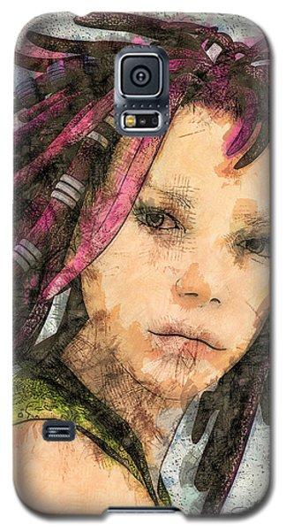 Jehanne Galaxy S5 Case by Jutta Maria Pusl