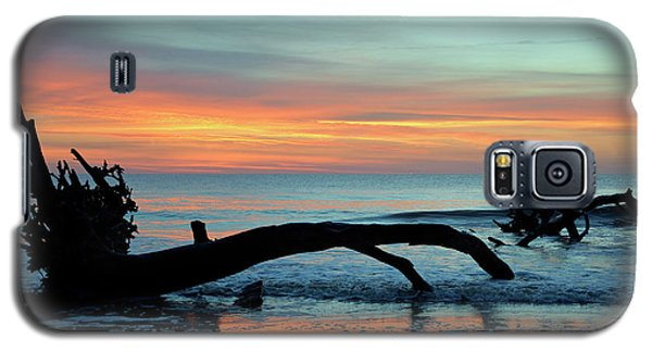 Galaxy S5 Case featuring the photograph Jekyll Island Sunrise 2016a by Bruce Gourley