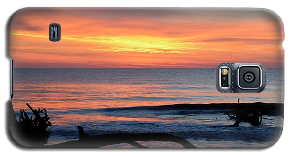 Galaxy S5 Case featuring the photograph Jekyll Island Sunrise 2016b by Bruce Gourley
