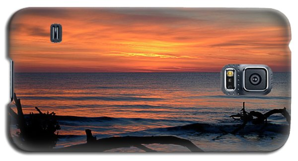 Galaxy S5 Case featuring the photograph Jekyll Island Sunrise 2016c by Bruce Gourley