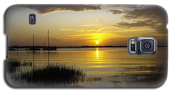 Jekyll Island Sunset Galaxy S5 Case by Elizabeth Eldridge