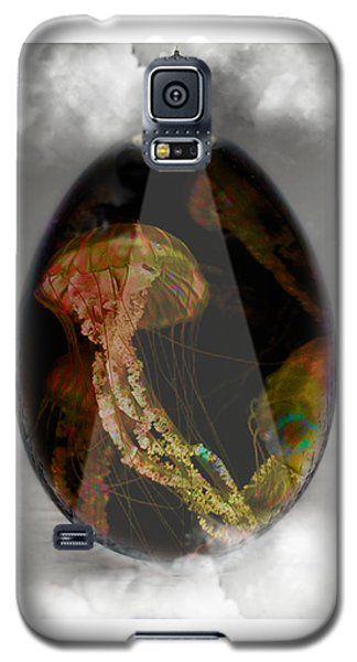 Jellyfish Art Galaxy S5 Case by Marvin Blaine