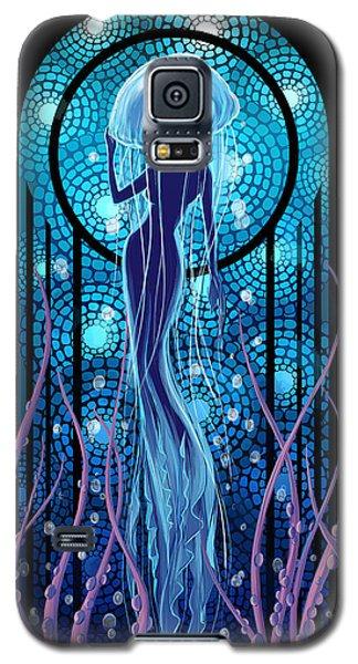 Jellyfish Mermaid Galaxy S5 Case