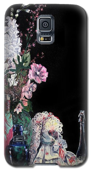 Galaxy S5 Case featuring the painting Jenibelle by Jane Autry