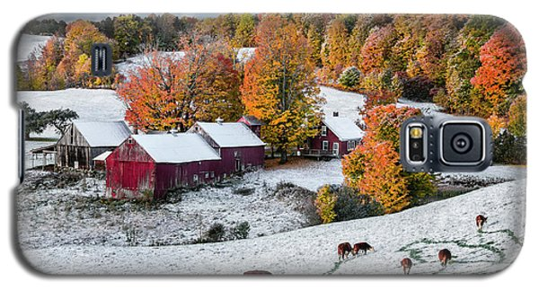 Jenne Farm, Reading, Vt Galaxy S5 Case by Betty Denise