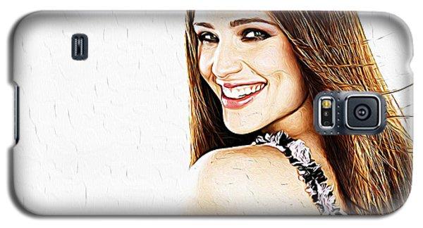 Ben Affleck Galaxy S5 Case - Jennifer Garner by Iguanna Espinosa