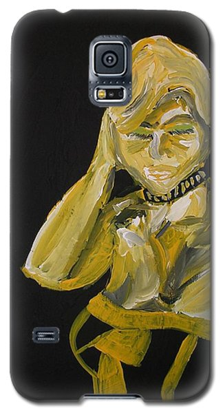 Galaxy S5 Case featuring the painting Jennifer by Joshua Redman