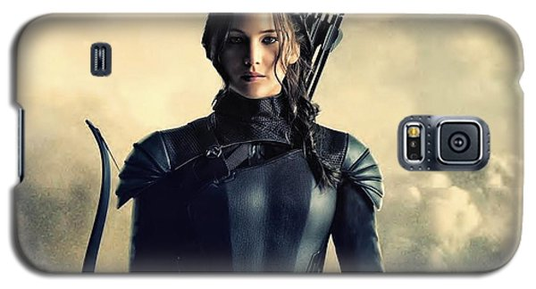 Jennifer Lawrence The Hunger Games  2012 Publicity Photo Galaxy S5 Case