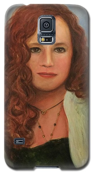 Galaxy S5 Case featuring the painting Jennifer by Randol Burns