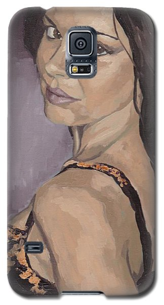 Jenny In Black Galaxy S5 Case