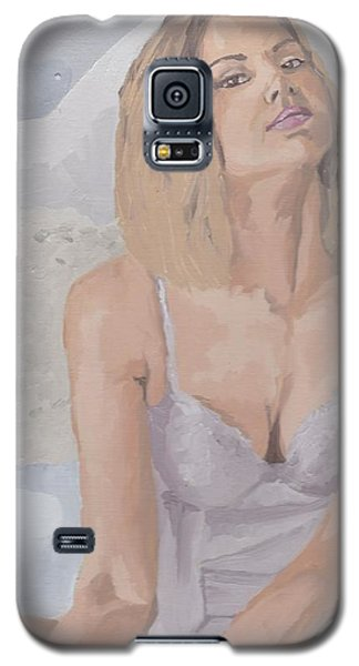 Jenny In White Galaxy S5 Case