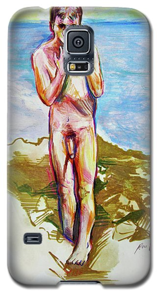 Jeremy At The Beach Galaxy S5 Case