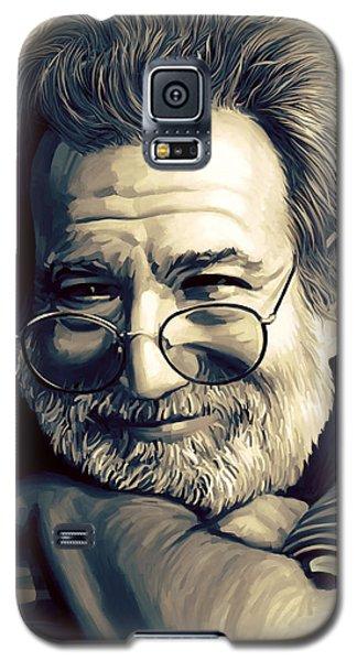 Jerry Garcia Artwork  Galaxy S5 Case