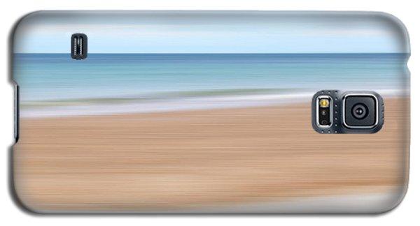 Jersey Coast Seascape Abstract Galaxy S5 Case by Gill Billington