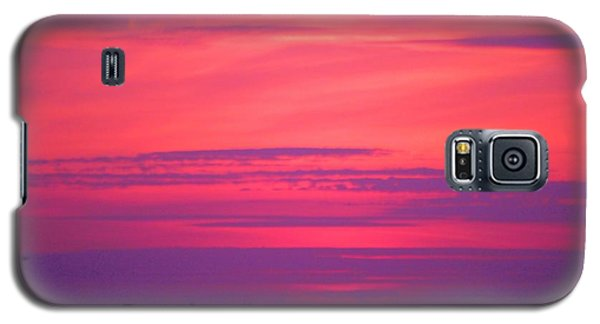 Galaxy S5 Case featuring the photograph Jersey Sunset by Susan Carella