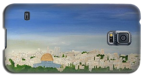 Jerusalem Skyline Galaxy S5 Case