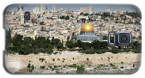 Jerusalem Skyline Galaxy S5 Case