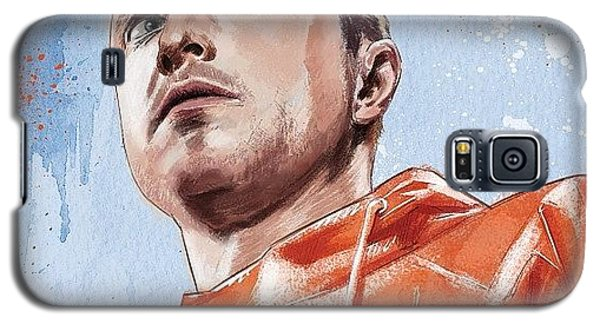 Color Galaxy S5 Case - Jesse Pinkman by Tony Santiago