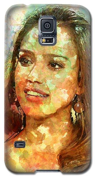 Jessica Alba Galaxy S5 Case