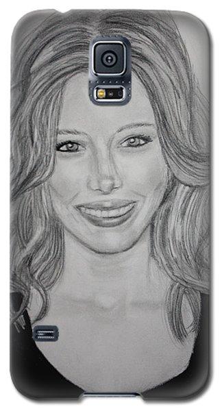 Jessica Biel Galaxy S5 Case