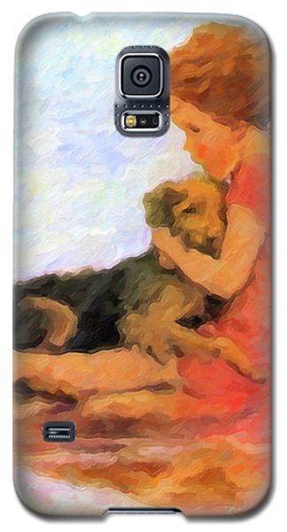 Jessie And Me Galaxy S5 Case by Chris Armytage