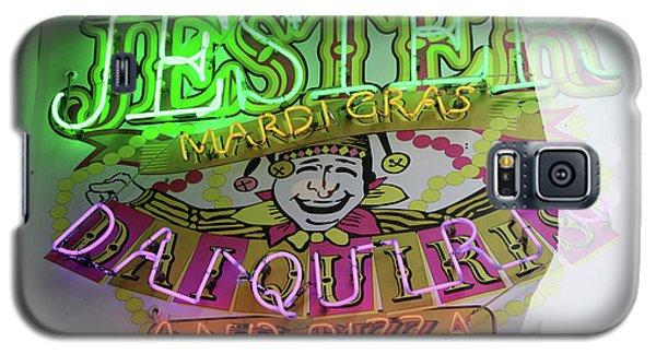 Jester Mardi Gras Sign Galaxy S5 Case
