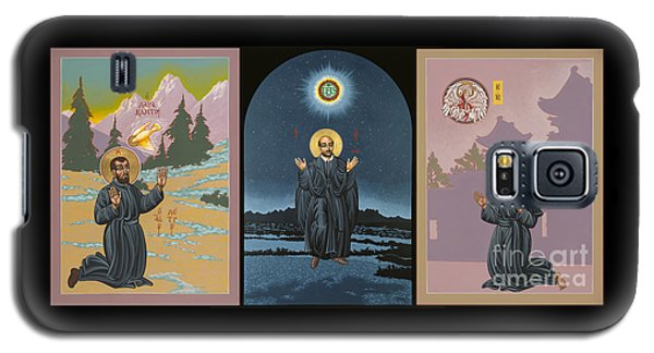 Jesuit Triptych-st Peter Faber-st Ignatius-st Francis Xavier Galaxy S5 Case