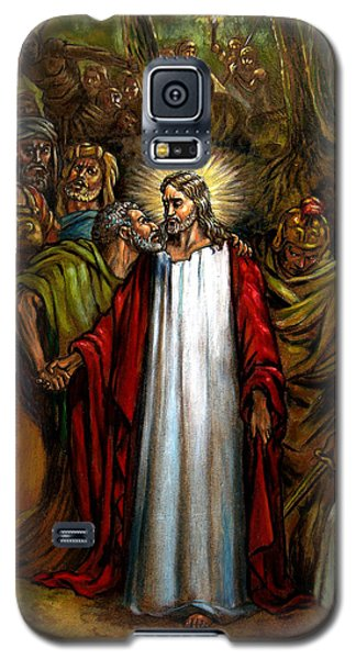 Jesus Betrayed Galaxy S5 Case by John Lautermilch