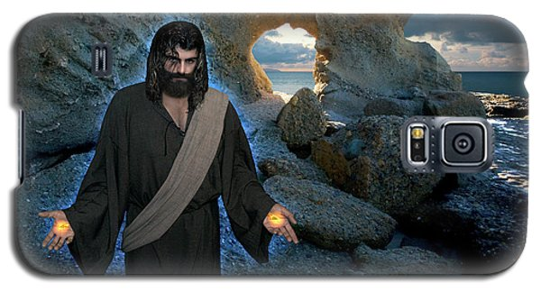 Jesus Christ- And Surely I Am With You Always Galaxy S5 Case