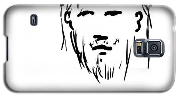 Jesus Christ Head Galaxy S5 Case