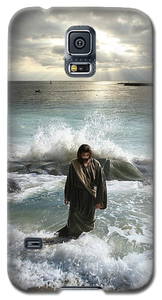 Jesus Christ- I Have Come As A Light Into The World Galaxy S5 Case